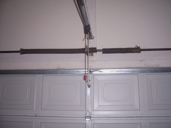 Torsion Spring Replacement On Track Garage Doors
